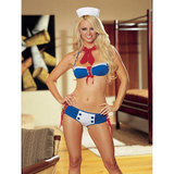 Dreamgirl Red Diamond Weekend Pass Sailor Set