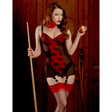 Kiss Me Deadly Miss Scarlet Baby Doll Dress