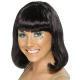 Party Bob Wig with Fringe