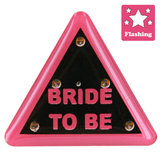 Flashing Bride To Be Hen Night Badge, 3 for £10 at Hen Night HQ!