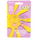 Toy Joy Bitchy Butterfly Nipple Rings