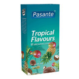 Pasante Tropical Flavoured Condoms (12 Pack)