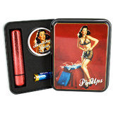 Pin Ups Ruby Glitter Bullet and Bombshell Orgasm Balm Gift Set