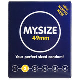 MY.SIZE 49mm Condoms (3 Pack)