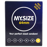 MY.SIZE 64mm Condoms (3 Pack)
