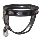 Male Chastity Solid Metal Belt Small