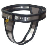 Female Chastity Solid Metal Belt Small