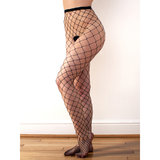Classified Fence Fishnet Tights