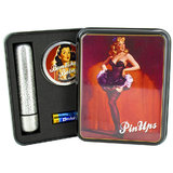 Pin Ups Nancy Glitter Bullet and Bombshell Orgasm Balm Gift Set