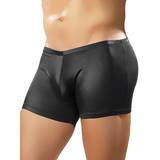 Male Power glänzende kurze Shorts aus Elastan
