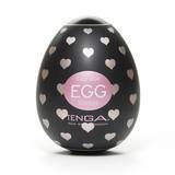 TENGA Egg Lovers Heart Textured Male Masturbator