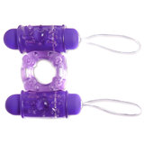 Bling Ring 10 Function Remote Control Vibrating Cock Ring