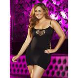 Lapdance Plus Size Cash Cage Sexy Mini Dress