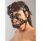 Zado Leather Head Harness and Ball Gag