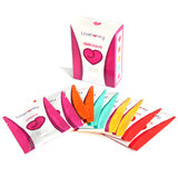 Lovehoney Assorted Flavoured Lubricant Pack (10 x 5ml Sachets)