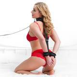 Bondage Boutique Wrist-to-Collar Back Position Restraint