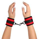 Bondage Boutique Soft Red Handcuffs