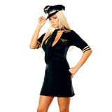 Dreamgirl Mile High Captain Set