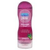 Lubrifiant intime relaxant Massage 2-in-1 200 ml, Durex Play