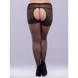 Lovehoney Plus Size Crotchless Tights