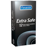 Pasante Extra Safe Condoms (12 Pack)