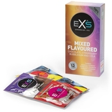 EXS Mixed Flavoured Condoms (12 Pack)