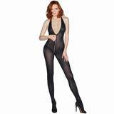 Dreamgirl Access All Areas Bodystocking with Full Zip Crotch