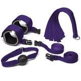 Purple Reins Beginners Bondage Kit (4 Piece)
