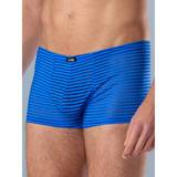 LHM Blue Stripe Mesh Boxer Shorts