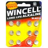 WINCELL LR1130 Cell Batteries (12 Pack)
