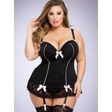 Lovehoney Plus Size Seduce Me Push-Up Basque Set