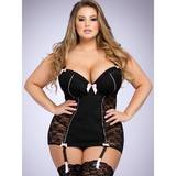 Ensemble nuisette bonnets push up & string Seduce Me grande taille, Lovehoney