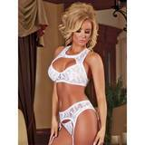 Exposed Angelic Lace 3pc Bra Set