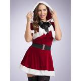 Miss Santa Dress and Cape Outfit