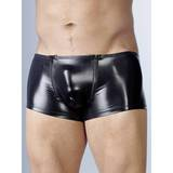 Svenjoyment Wet Look Zip Front Enhancement Boxers