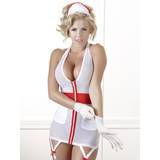 Cottelli Sheer Zip-Up Sexy Nurse's Uniform