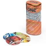 ONE Flavour Waves Condoms (12 Pack)
