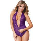 Dreamgirl Access All Areas Stretch Lace Zip Around Body