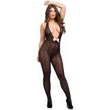 Bodystocking Abierto Escote Plunge Seduce Me Lovehoney
