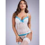 Lovehoney Seduce Me White Lace Push-Up Basque Set