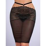 Lovehoney Elixir Luxury Black Lace Skirt