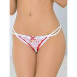 Escante Crotchless Briefs with Golden Bells