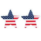 Peekaboos Stars and Stripes Nipple Pasties (2 Pack)
