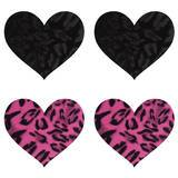 Peekaboos Wildcat Hearts Nipple Pasties (2 Pack)