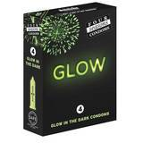 Four Seasons Glow In The Dark Condoms (4 Pack)