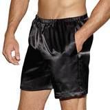 Dreamgirl Long Satin Boxer Shorts