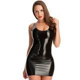 Mini Vestido de Látex de Rubber Girl