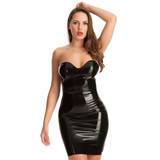 Robe de soirée bustier latex, Rubber Girl