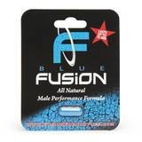 Blue Fusion Male Enhancement Dietary Supplement (1 Capsule)