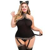 Déguisement de chat sexy grande taille Kinky Kitten, Lovehoney